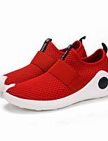 Da uomo Sneakers Innovativo Maglia traspirante Primavera Estate Casual Innovativo Nero Rosso Piatto