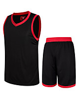 Homme Sans Manches Basket-ball Ensemble de Vêtements Cuissards Antiusure Des sports