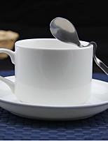 Bone Porcelain European Pure White Coffee Cup Set