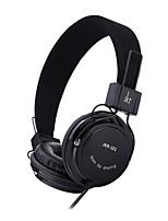 Controle de microfone fone de ouvido estéreo com fone de ouvido com fone de ouvido
