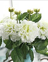 18inch 5 Branch Silk Dahlia Tabletop Flower Artificial Flowers