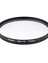 Andoer 77mm filter set uv cpl star 8-Punkt-Filter-Kit mit Etui für Canon nikon sony dslr Kameralinse