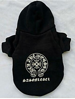 Dog Sweatshirt Dog Clothes Party Casual/Daily British Black