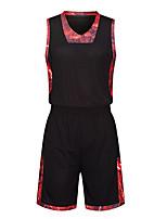 Homme Sans Manches Basket-ball Ensemble de Vêtements Cuissards Antiusure Des sports