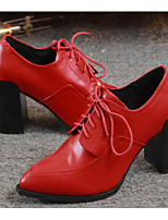 Women's Wedding Shoes Comfort PU Spring Wedding Casual Comfort Ruby Flat
