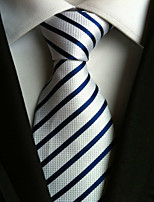 Men's Polyster Neck TieNeckwear Striped All Seasons W0057