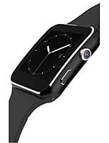 Муж. Смарт-часы Модные часы Цифровой Защита от влаги Педометр Pезина Группа Черный Белый