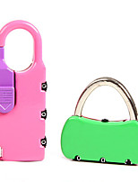 SANTO 0404 Zinc Alloy Couple Password Lock Padlock 3 Password For Baggage Lock Bag Fitness Lock Dail Lock Password Lock