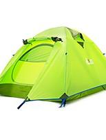 2 persone Tenda Doppio Tenda ripiegabile Una camera Tenda da campeggio 2000-3000 mm Alluminio TeritalOmpermeabile Anti-pioggia
