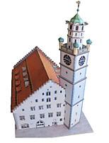 Puzzles Kit de Bricolage Puzzles 3D Blocs de Construction Jouets DIY  Bâtiment Célèbre