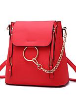 IMBETTUY Women's Fashion Barrel PU Leather Messenger Shoulder Bag