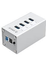 Orico a3h4-bk usb3.0 4ports 5gbps 1mcable com mac hub de interface