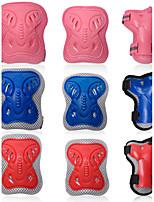 Enfants Équipement de protection Protège Genoux, Protège Coudes & Protège Poignets pour Cyclisme Skateboard Roller en ligne Patins à