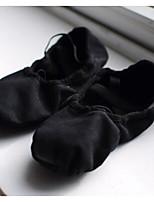 Mujer Ballet Tejido Planos Entrenamiento Blanco Negro Rojo
