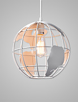 The Nordic Style/Globe Lamp/Lodge Nature Inspired Chic & Modern Country Traditional/Classic Retro Painting Feature for Matte