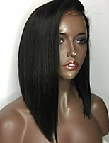 2017 New Fashion Brazlian Virgin Hair Bob Wigs Straight Hair Lace Front Human Hair Wig Short Vrigin Remy Hair Wig for Woman