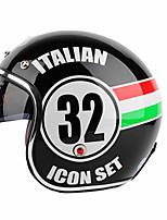 YEMA 629 Motorcycle Helmet Electric Car Half Helmet Four Seasons Helmet Show Props Korean Version Of The Helmet