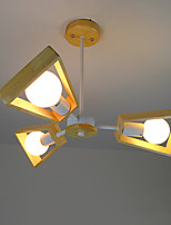 Luce a sospensione, moderna / contemporanea legno in legno per legno / bambù soggiorno camera da letto sala da pranzo studio cucina /