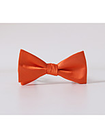 Men's Polyester Bow Tie,Casual Solid All Seasons