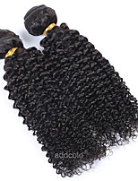 Addcolo Brazilian Virgin Hair Deep Curly Hair Weft 100% Human Hair Weaving Nature Color No Tangle
