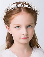 Girl's Headband Rhinestone Decoration Beading Hair Accessory