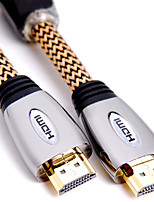 SAMZHE   SM-9905  HDMI 2.0 Cable HDMI 2.0 to HDMI 2.0 Cable Male - Male Gold-Plated Copper 5.0m(16Ft)
