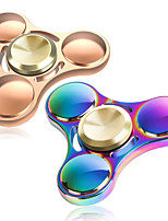 2 Pcs Fidget Spinner Hand Spinner Toys Five Spinner Metal EDC Relieves ADD ADHD Anxiety Autism Stress and Anxiety Relief Office Desk Toys for