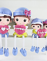 Creative Love 4 Family/Hamstring Doll/Cute Resin Crafts/Decoration
