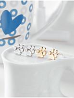 Жен. Серьги-гвоздики Животный дизайн Сплав В форме животных Бижутерия НазначениеСвадьба День рождения На каждый день Обручение