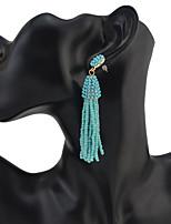 Drop Earrings Women's Euramerican Fashion Tassel Bohemian Earrings  Party Daily Movie Jewelry