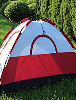3-4 persons Travel Bag Single Fold Tent Camping Tent 1500-2000 mm Stretch Satin Keep Warm-Camping / Hiking-