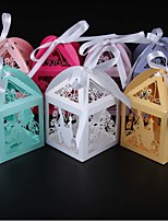 50pcs bride and groom party wedding candy box butterfly wedding box gift box wedding decoration party supplies