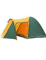 3-4 человека Ободки Двойная Палатка Складной тент Сохраняет тепло Дожденепроницаемый для Отдых и Туризм См Другие материалы