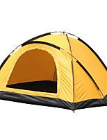 2 persons Tent Single Fold Tent One Room Camping Tent <1000mm Oxford FiberglassKeep Warm Moistureproof/Moisture Permeability Waterproof