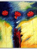 Oil Paintings Abstract Style Canvas Material With Wooden Stretcher Ready To Hang Size 70*70 CM .