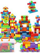 Approx 190PCS Interlocking Assembly Big Bricks Building Blocks DIY Early Educational Construction Toys Set Kid Model Designer Jigsaw Toys Kit