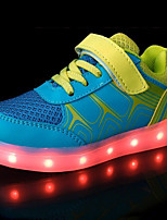 Boys' Athletic Shoes Light Up Shoes Fabric Tulle Leatherette Spring Summer Fall Winter Athletic Casual Outdoor Running Light Up Shoes