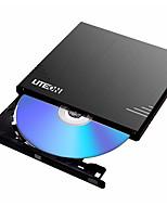 Ebau108 liteon 8x usb2.0 unidad óptica externa grabadora de DVD unidad móvil