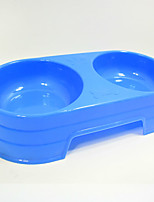 Cat Dog Bowls & Water Bottles Pet Bowls & Feeding Portable Random Color