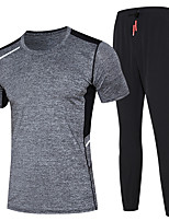 Men's Running Clothing Suits Moisture Wicking Summer Sports Wear Running/Jogging