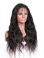 Popular Human Hair Deep Curly Lace front Wig Brazilian virgin hair