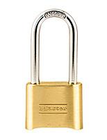 MasterLock 175MCNDLH Copper Password Unlock Four Digital Password Adjustable Password Lock Warehouse Door Padlock Dail Lock Password Lock