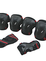 Adult Protective Gear Knee Pads + Elbow Pads + Wrist Pads for Skateboarding Inline Skates Eases pain Breathable 6 pack Outdoor PP