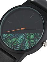 Mulheres Homens Relógio Esportivo Relógio de Moda Relógio de Pulso Único Criativo relógio Relógio Casual Chinês Quartzo Impermeável Couro