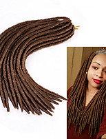 Faux Locs Synthetic Braiding Hair Extensions Heat Resistant 100g Synthetic Faux Locs crochet hair 24 roots/pack Havana mambo dreadlocks extensions