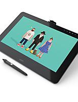 Wacom cintiq pro 16 grafica disegno monitor dth-1620 5080 lpi 8192 livello di pressione sence grafica compressa