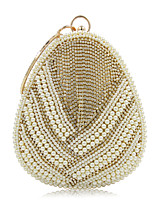 L.WEST Women's fashion pearl drop dinner packages Hand bag