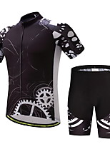 CYCEARTH Cycling Jersey Shorts Pants Short Sleeve Set Men's Bike Clothing Suits Clothes Summer Breathable Quick Dry CES1019