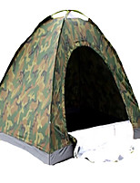 2 persone Tenda Singolo Tenda ripiegabile Una camera Tenda da campeggio 1000-1500 mm Terital Nastro di argentoVentilazione Asciugatura