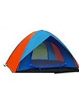 3-4 persons Tent Double Camping Tent Fold Tent Keep Warm for Camping / Hiking CM Other Material
